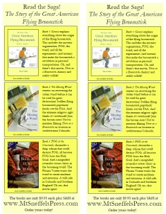 Do you love the Broom books? Want to spread the word to your friends? Click on the image for a pdf of a flyer you can print.